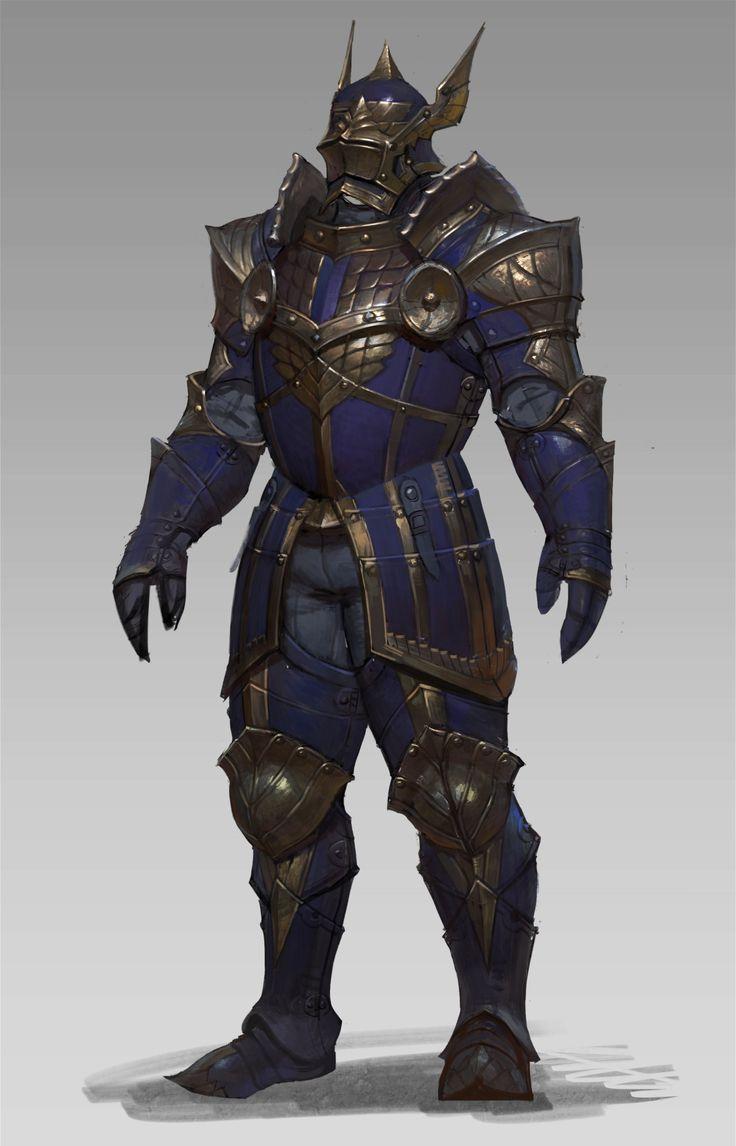 Fantasy Medieval Knight art concept art armor ...