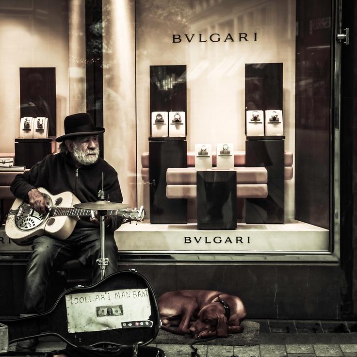 Bluesman from Köln.  - by Hans Schumacher