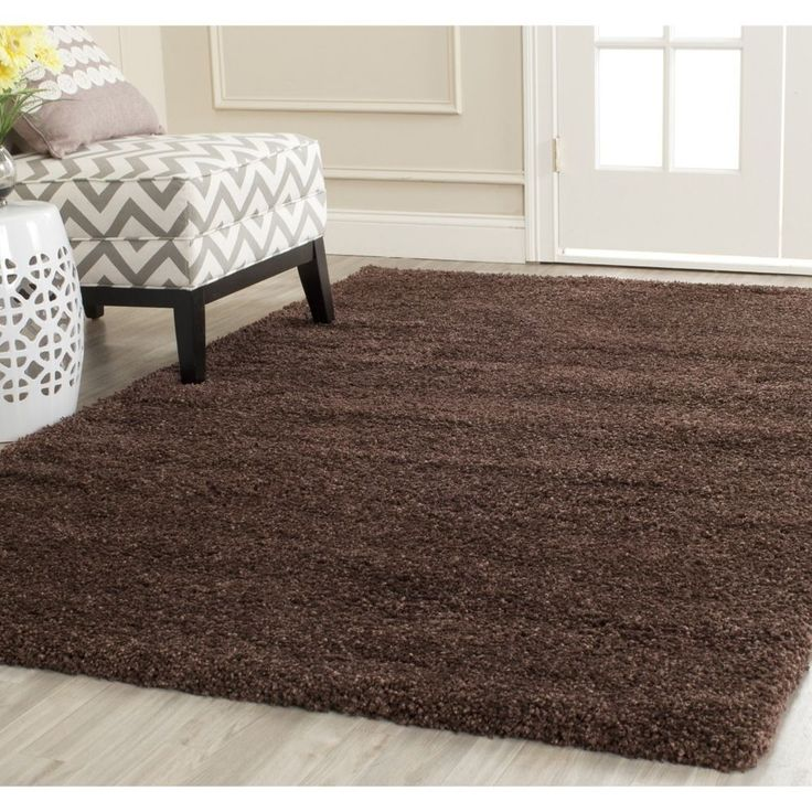 safavieh milan shag brown rug x overstock shopping great deals on safavieh rugs