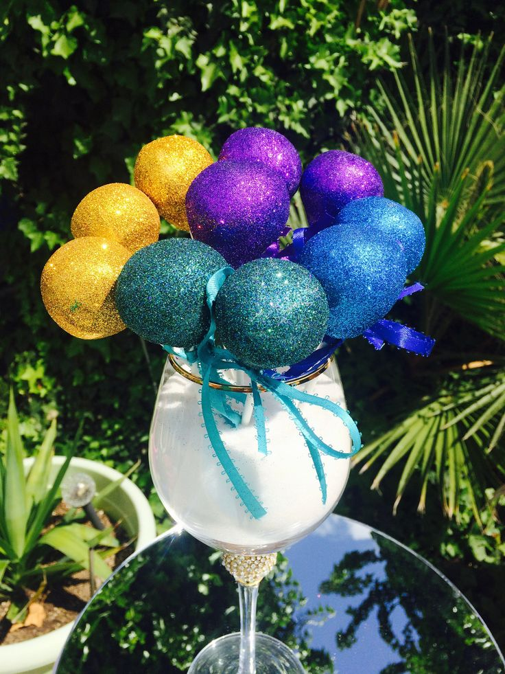 A personal favorite from my Etsy shop https://www.etsy.com/listing/512355612/mardi-gra-glam-pops