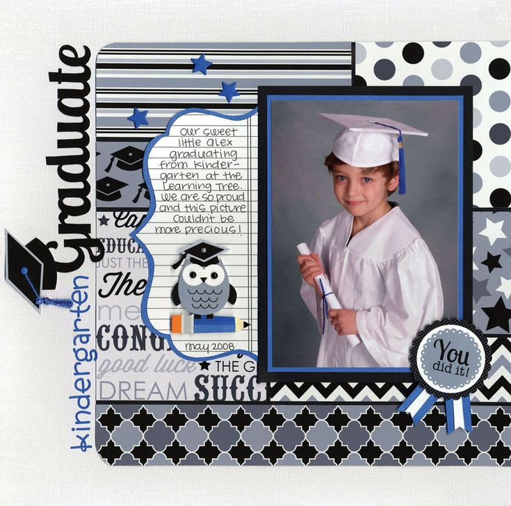 Have you seen the New Cap & Gown Collection from Doodlebug? - Scrapbook.com