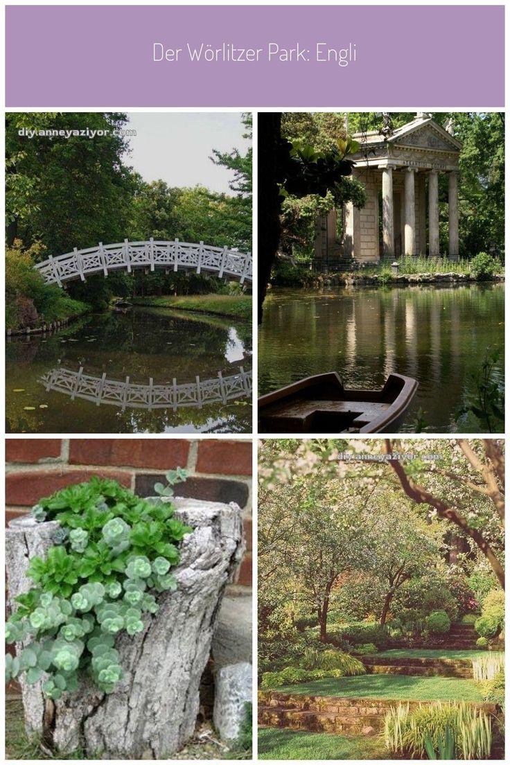 Der Worlitzer Park Englischer Garten Gondelfahrt Amphitheater Und Sogar Ein Amphitheater Der Ein Englischer English Garden Famous Gardens Garden