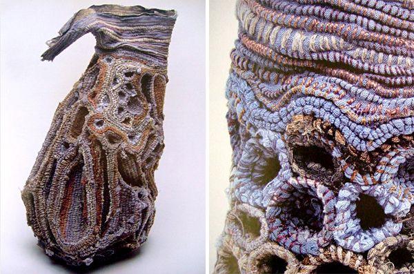 "Janet Edmond Vessel ""Three-dimensional Embroidery"""