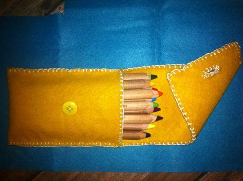 Beautiful fiber arts projects from a grade 2 class.