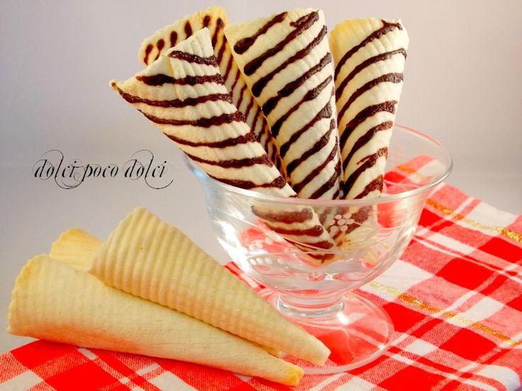 Cialde per coni gelato ricetta con nesquik 4
