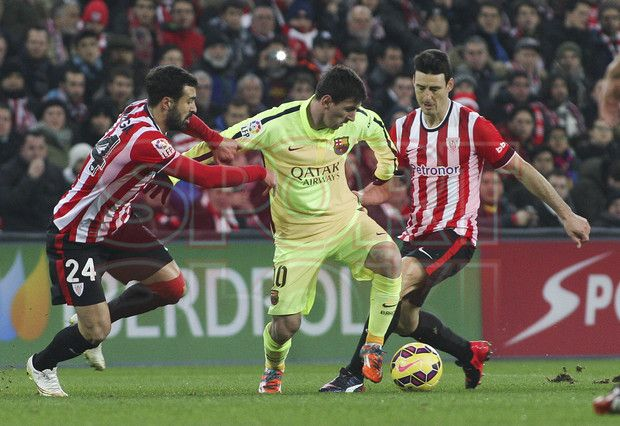Athletic, 2 - Barça, 5