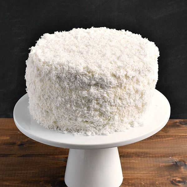 Coconut Layer Cakes Using Coconut Cream And Cool Whip