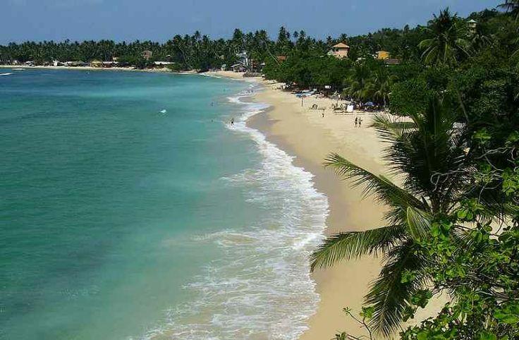 Beautiful Unawatuna beach – Sri Lanka. Enjoy!