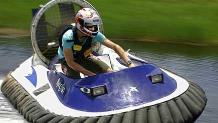 HOVERCRAFT RACING BLAST AND ALL-TERRAIN DTV SHREDDER EXPERIENCE #adventuredays #extremesports