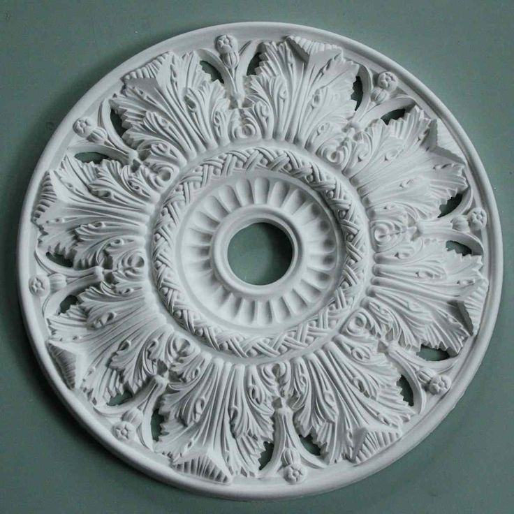 Victorian Ceiling Rose | Crown and Acanthus | Diameter 520mm | MPR063