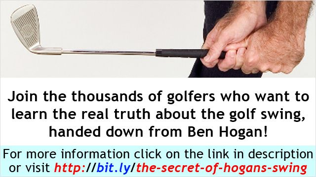 Golf Swing Tip from Hogan's Swing