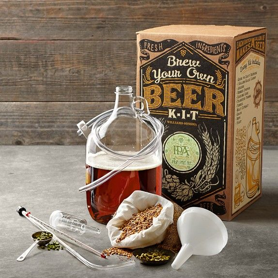 "This ""Brew Your Own Beer"" kit is PERFECT for a Dad who enjoys one after a day at the office! :))"