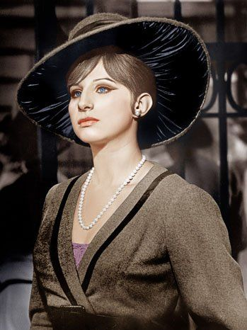 """A marvellous debut by Barbra Streisand as FANNY BRICE in """"FUNNY GIRL"""" (1968) which won her the Academy Award as """"Best Actress""""."""