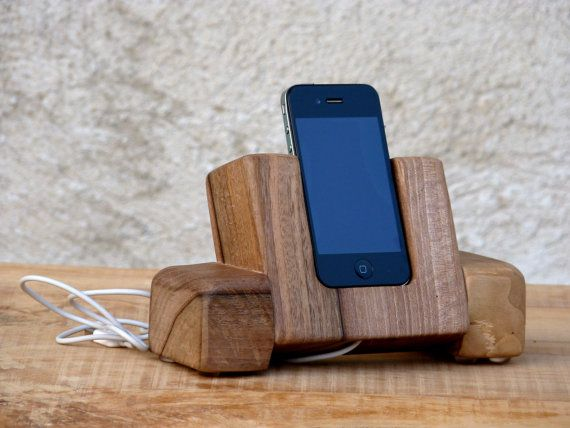 wooden iphone docking station wabi sabi wooden iphone dock station charging 16526