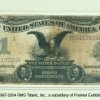 """Titanic Silver Certificate - This artifact, recovered from Titanic, is a form of currency known as a """"Silver Certificate"""". Silver Certificates were common during the Victorian Era"""