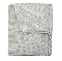 Linen Luxury Throw - (Greystone)