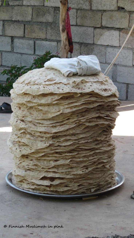 Kurdish naan bread...