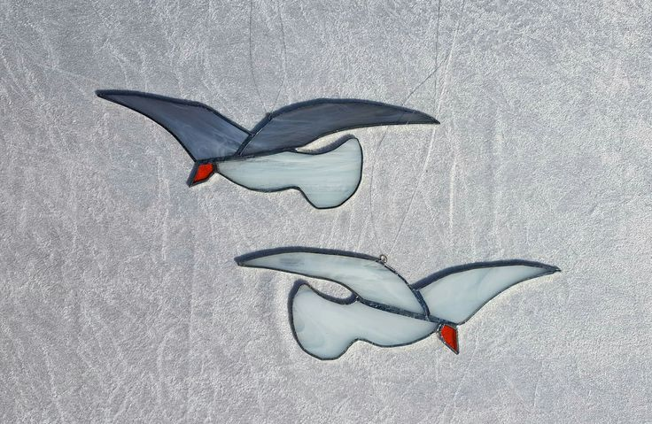 Tiffany Seagulls