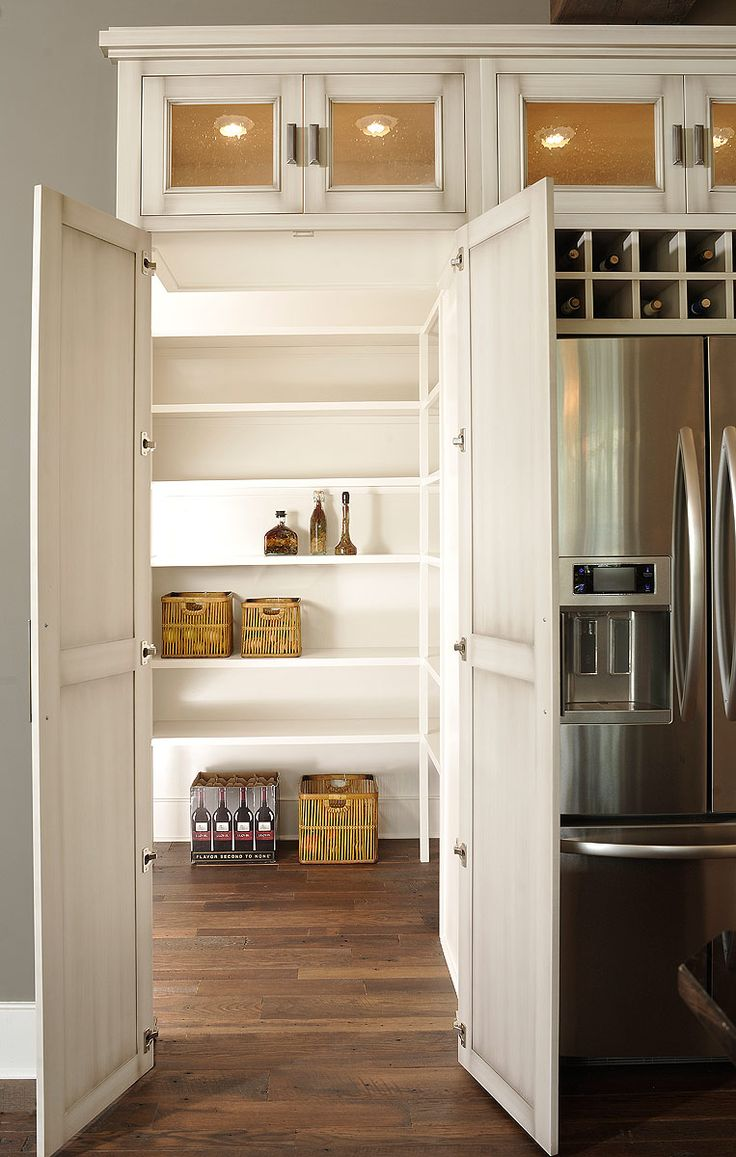 Best 25 hidden pantry ideas on pinterest hidden rooms - Kitchen pantry cabinet design plans ...