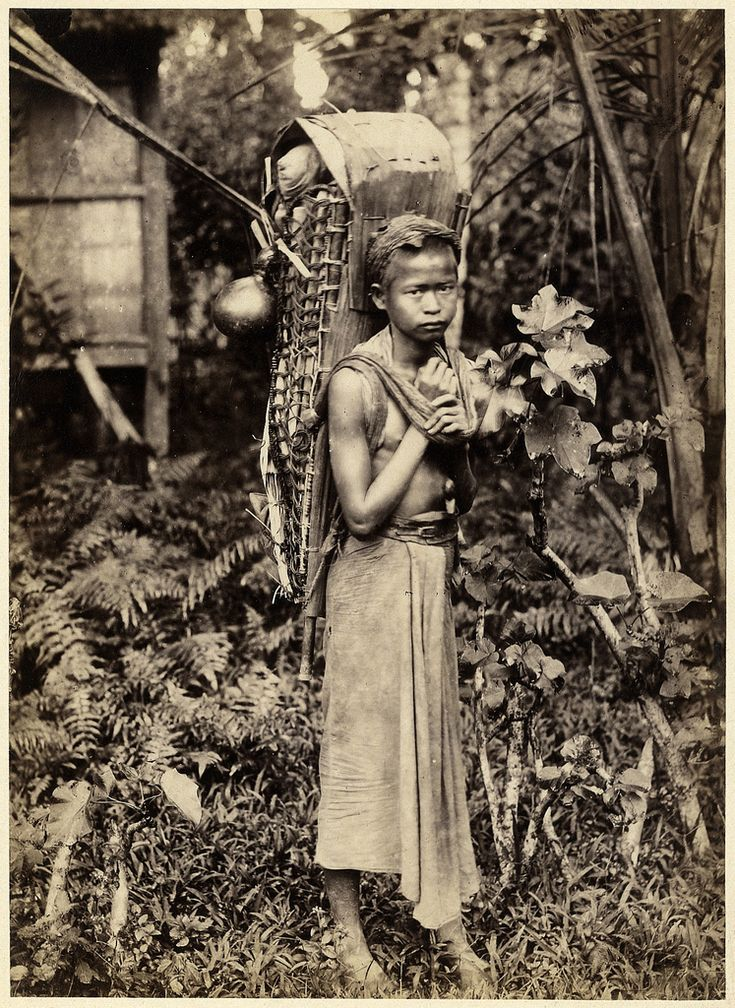 "From ""Indigenous People, Sumatra"", 1890s by Anton Willem Nieuwenhuis"