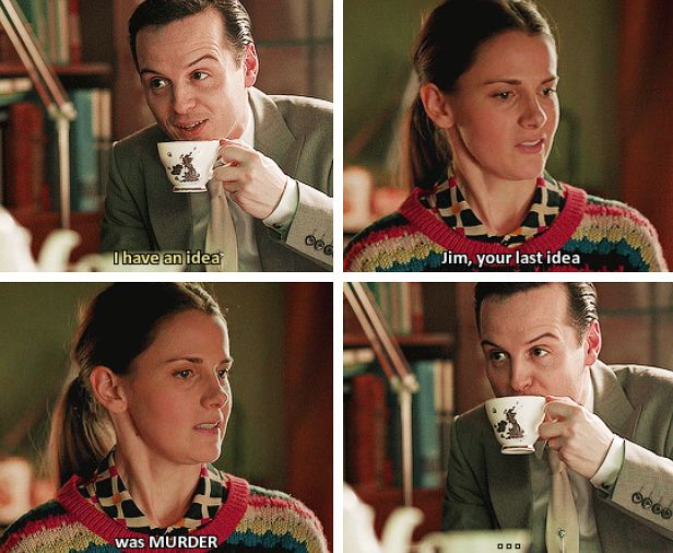 Jim Moriarty Molly Hooper Molliarty Incorrect Quotes sherlock