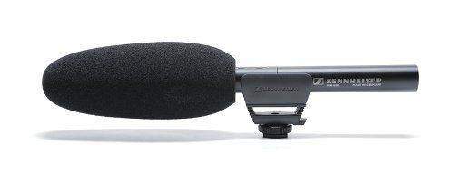 Ultimate Videocamera Microphone Kit: Sennheiser MKE 600 Shotgun Mic with Phantom Power and Sennheiser MZH 600 Windshield