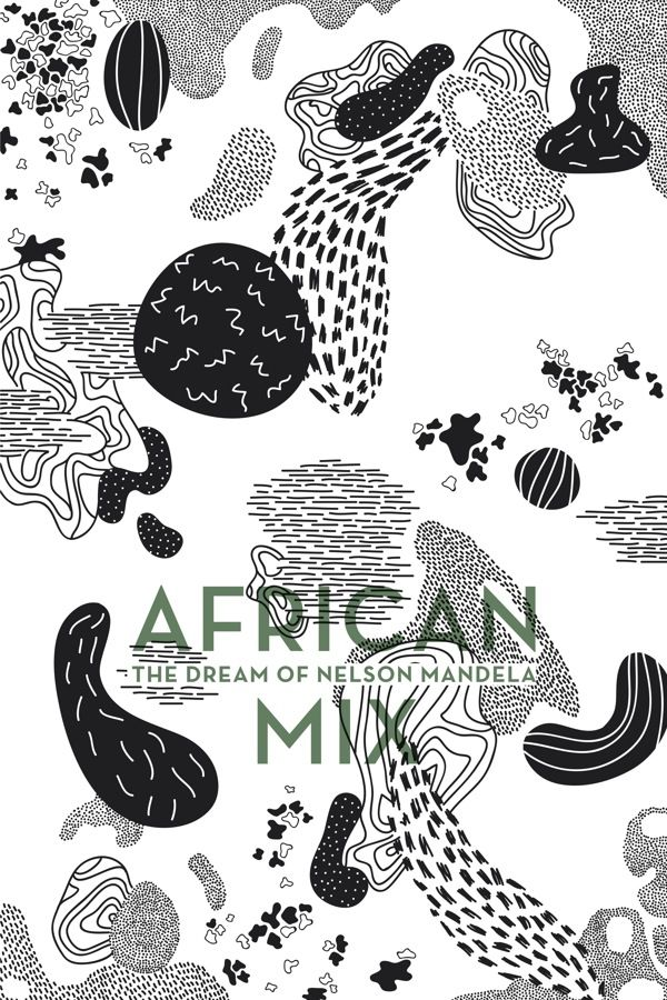African Mix Posters. by Elise Hannebicque, via Behance