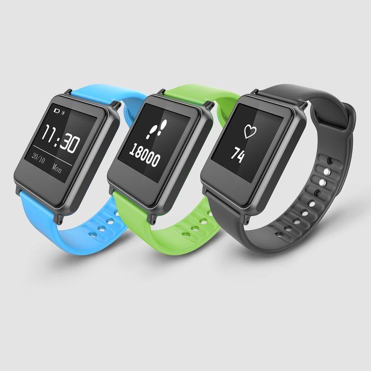 High Quality iWown i7 Smart Watch Bracelet Wrist Band Bluetooth 4.0 Waterproof…