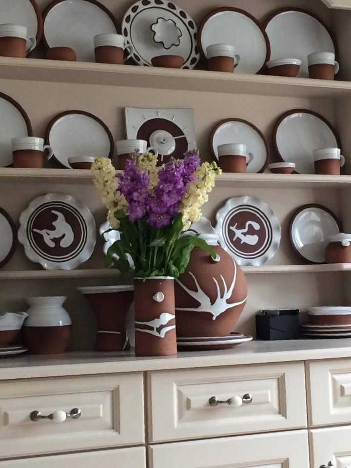 "Thanks to Marie in Kildare for this pic of her ""pride and joy""! Stephen Pearce Pottery."