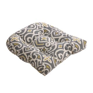 Overstock This Moroccan Inspired Damask Chair Cushion