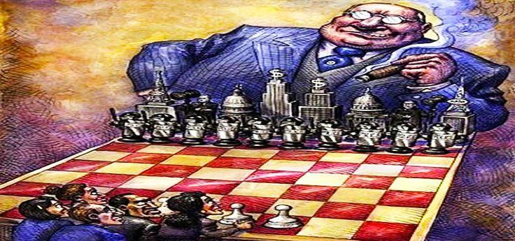 Le grandi famiglie che controllano il Mondo:http://uomoqualunque.net/2014/04/le-grandi-famiglie-che-controllano-il-mondo/  Parliamo di 6, 8 o forse 12 famiglie che hanno accumulato la maggior parte della ricchezza e del potere.