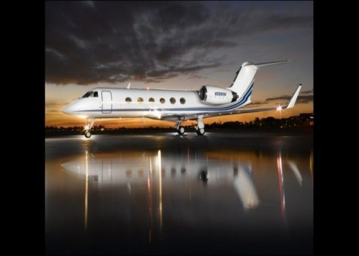 Christian39s Private Jet The Gulf Stream IV It Bears The