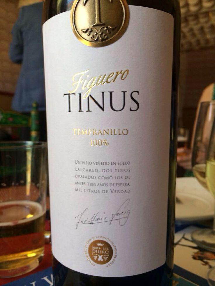 Figuero Tinus - Ribera del Duero, Spain. Grapes: 100% tempranillo