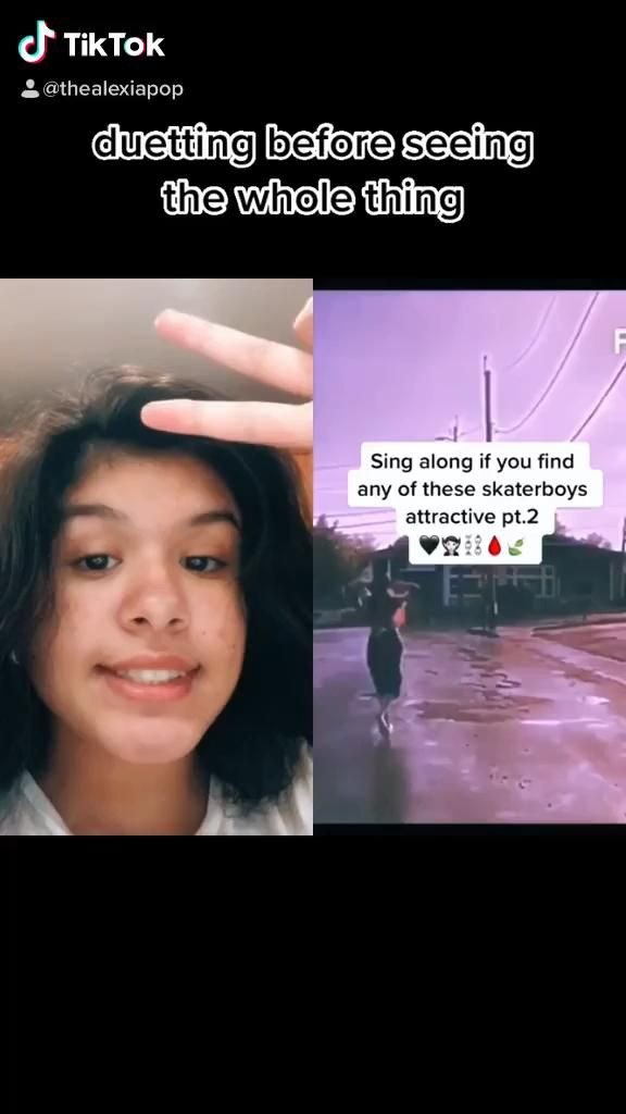 Alexia Thealexiapop On Tiktok Duet With Aesthetic Boys1 Fyp Foryoupage Video In 2021 Singing Videos Cute Guys Skater Boy