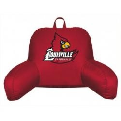 Louisville Cardinals Coordinating NCAA Bedrest Pillow from Kentex