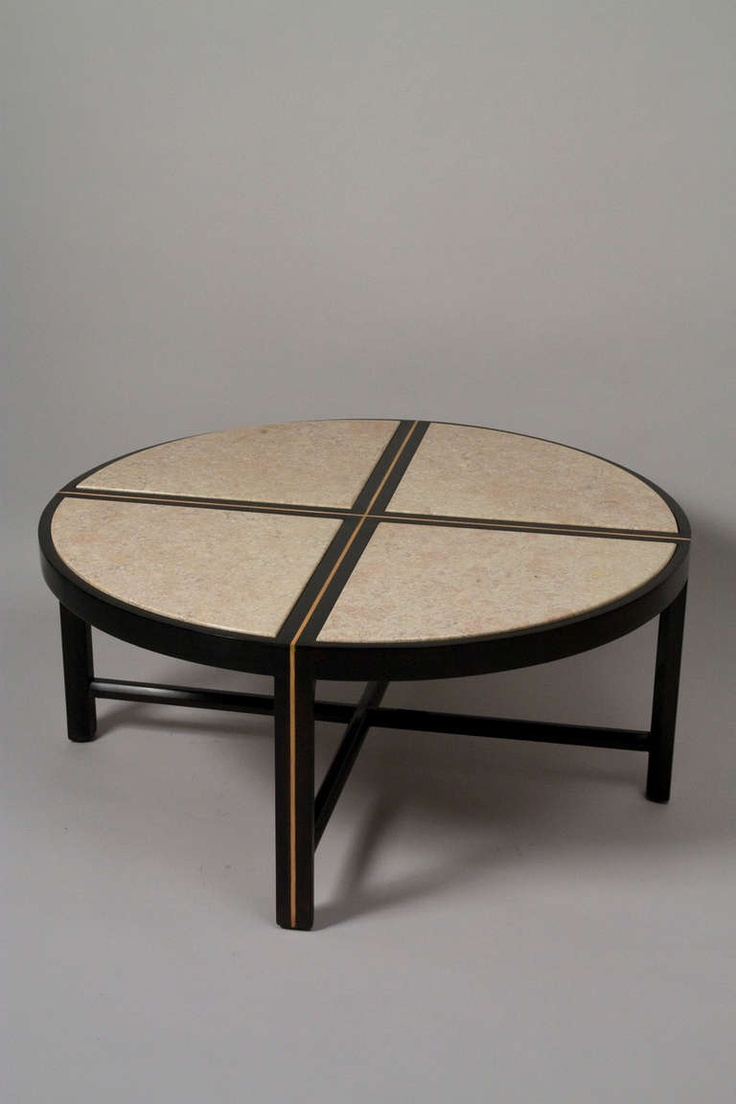 Walnut Coffee Table by Tommi Parzinger