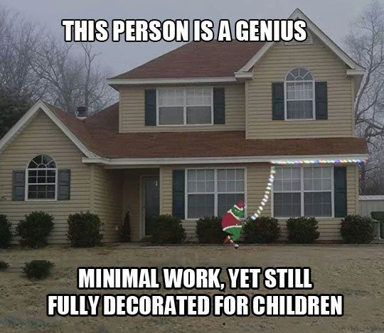The best way to decorate your house for Christmas // funny pictures - funny photos - funny images - funny pics - funny quotes - #lol #humor #funnypictures