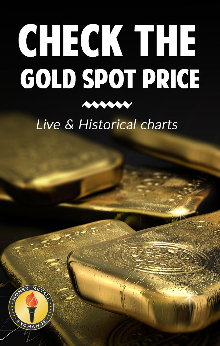 Check The Price Of Gold With Money Metals Exchange S Interactive Live And Historical Chart Below Allows You To Spot Prices Dating Back