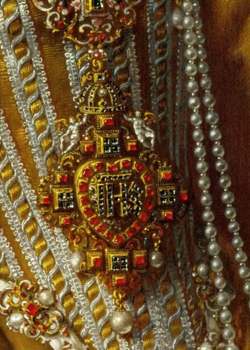 Jewels of Pourbus the Younger, Archduchess Maria Magdalena of Austria, c.1603.