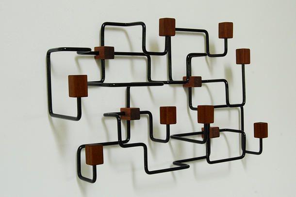 Gejst – Sort underground knagerække - Tinga Tango Designbutik.