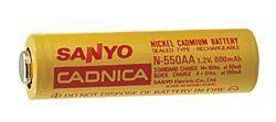 N-700AAC AA NiCd 1.2V 700mAh by Sanyo. $2.39. Save 47%!