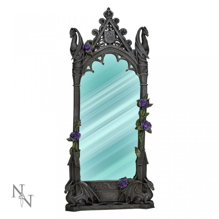 Oglindă de birou / perete Dragon Beauty