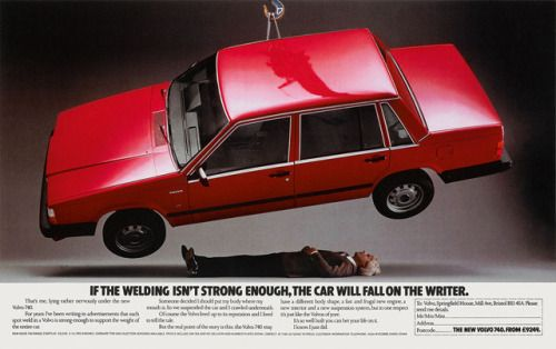A forever classic from the mid 1980s. The copywriter (and the...