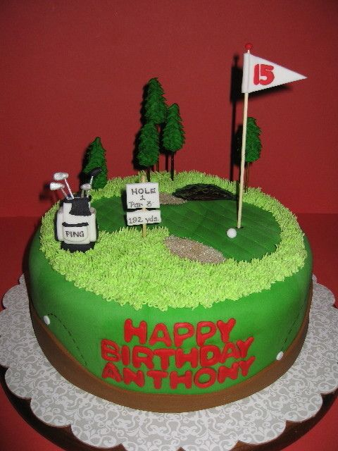 25+ best ideas about Golf Course Cake on Pinterest Golf ...