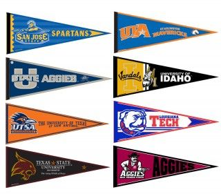 WAC Pennant Set- Great for decorating a High School classroom