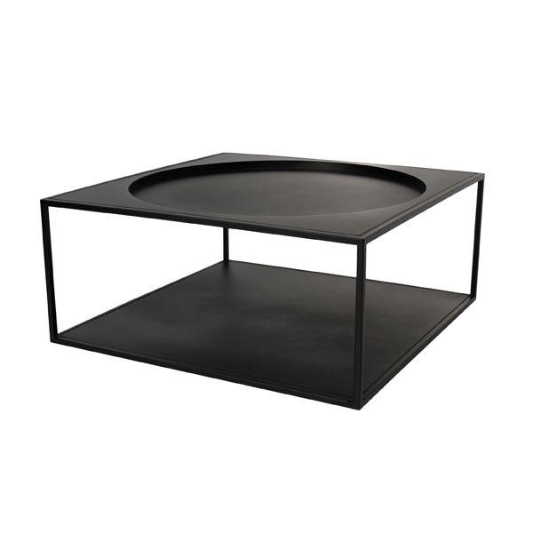 Products details - Meubels - Stalen koffie tafel matt zwart