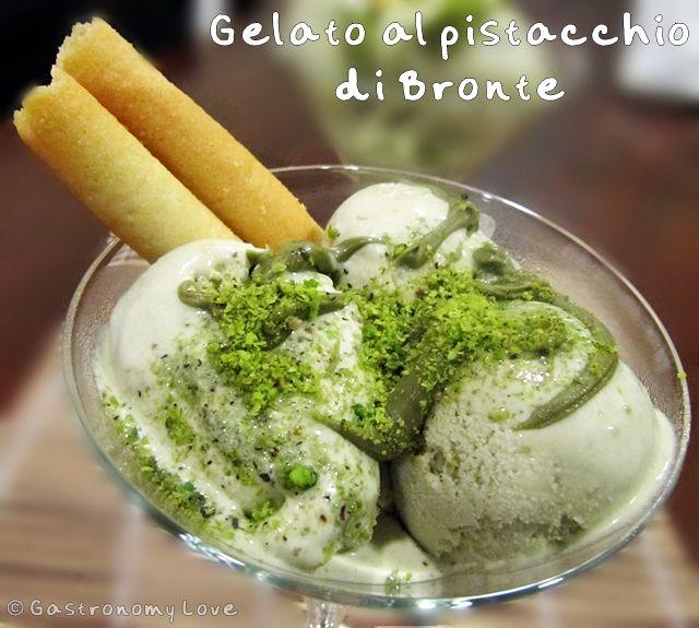 Gelato al pistacchio di Bronte   Gastronomy Love