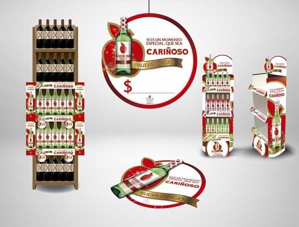 Cliente: JGB Producto: Cariñoso Referencia: Momento Especial Aplicación: Material de Merchandising y Visibility Fecha: 2012