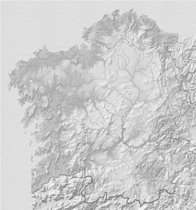 Mapa De Galicia Fisico Mudo.Pin En Galicia Espana