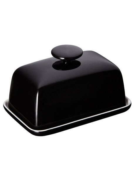 Add a contemporary and on-trend touch to your serveware with this butter dish from the Salt